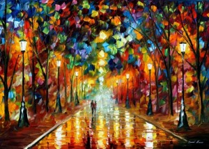 FIREWELL TO ANGER leonid afremov