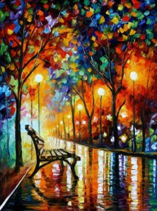 LONELINESS OF AUTUMN   leonid afremov