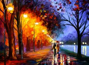 alley-by-the-lake-leonid-afremov